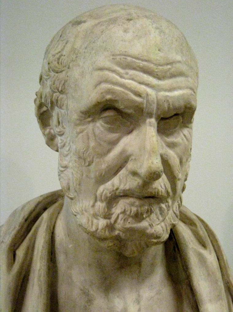 estatua hipocrates